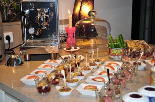 Fingerfoodauswahl- Meine Gästetafel - Ute Pieper