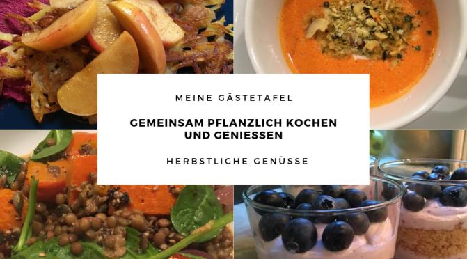 Herbstliche Genüsse – Gemeinsam pflanzlich kochen und genießen