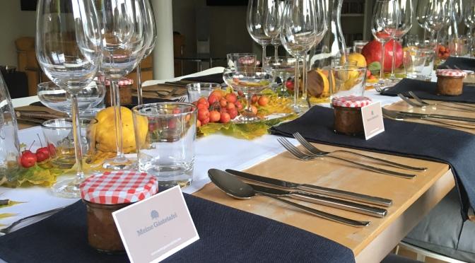 Vegetarische Gästetafel am 11.9.2021